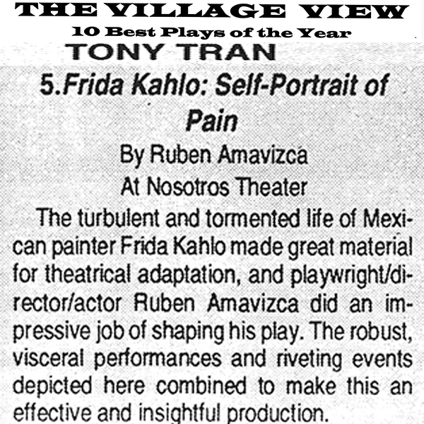 The Village View Frida Kahlo