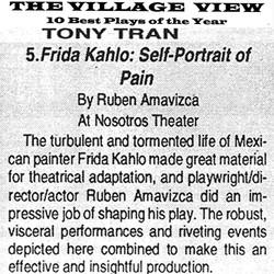 The Village View Frida Kahlo