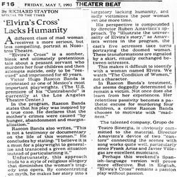 La Times Elvira's Reasons