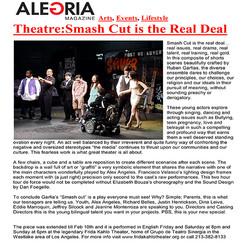 Alegria Magazine Smash Cut