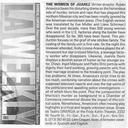 LA Weekly The Women of Juarez