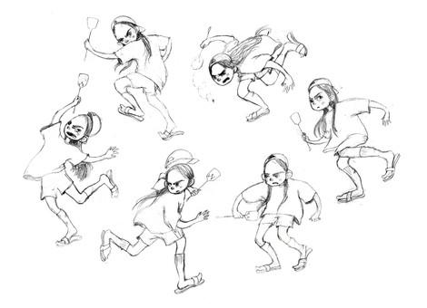 Character Design: A Secret Garden Adaption