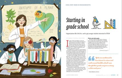 Illustration for Stuff Magazine #1