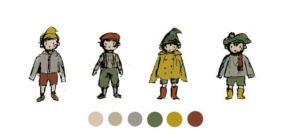 Costume Design: Little Red Riding Hood Adaption