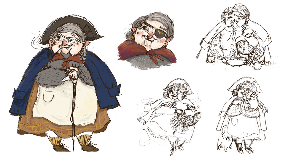 Character Design: Little Red Riding Hood Adaption