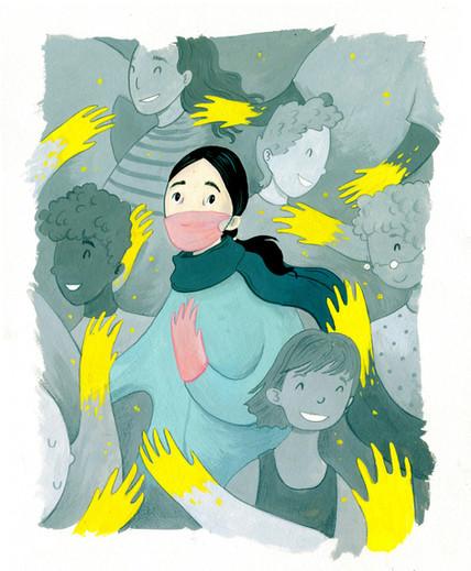 Illustration for New Hampshire Magazine
