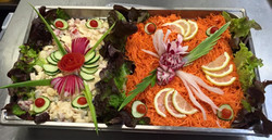 Plateau de salades composéees
