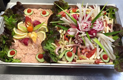 Plateau de salades composées