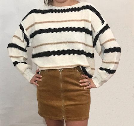 Trendy Stripe Sweater