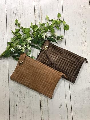 Basket Weave Clutch