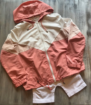 Color Block Windbreaker