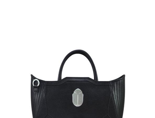 K010 Black Mini Tote Bag