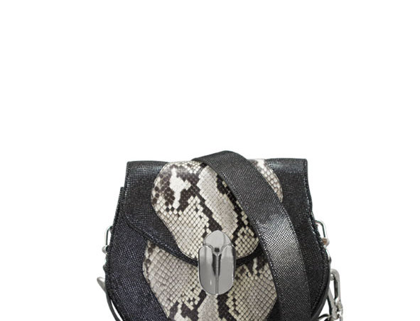 K012 Saddle Bag Python & Leather