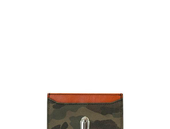 G01 Army & Orange Card Holder