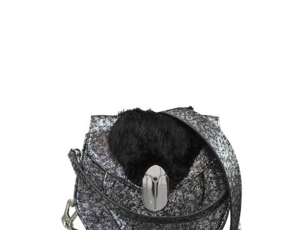 K012 Saddle Bag Leather & Fur