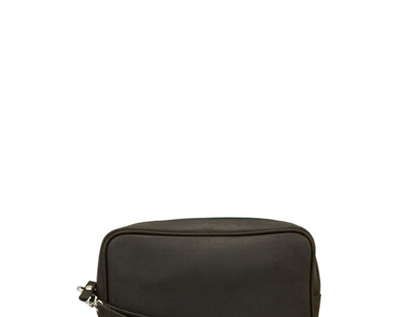 A06 Dark Choco Clutch Bag