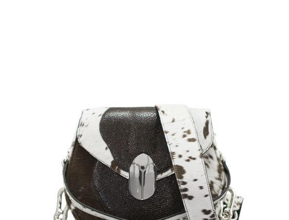 K012 Saddle Bag Hair Calf