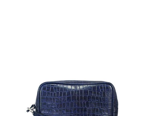 A06 Blue Coco Clutch Bag