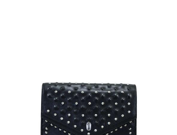 K08 Black Shoulder Bag Remachada Full