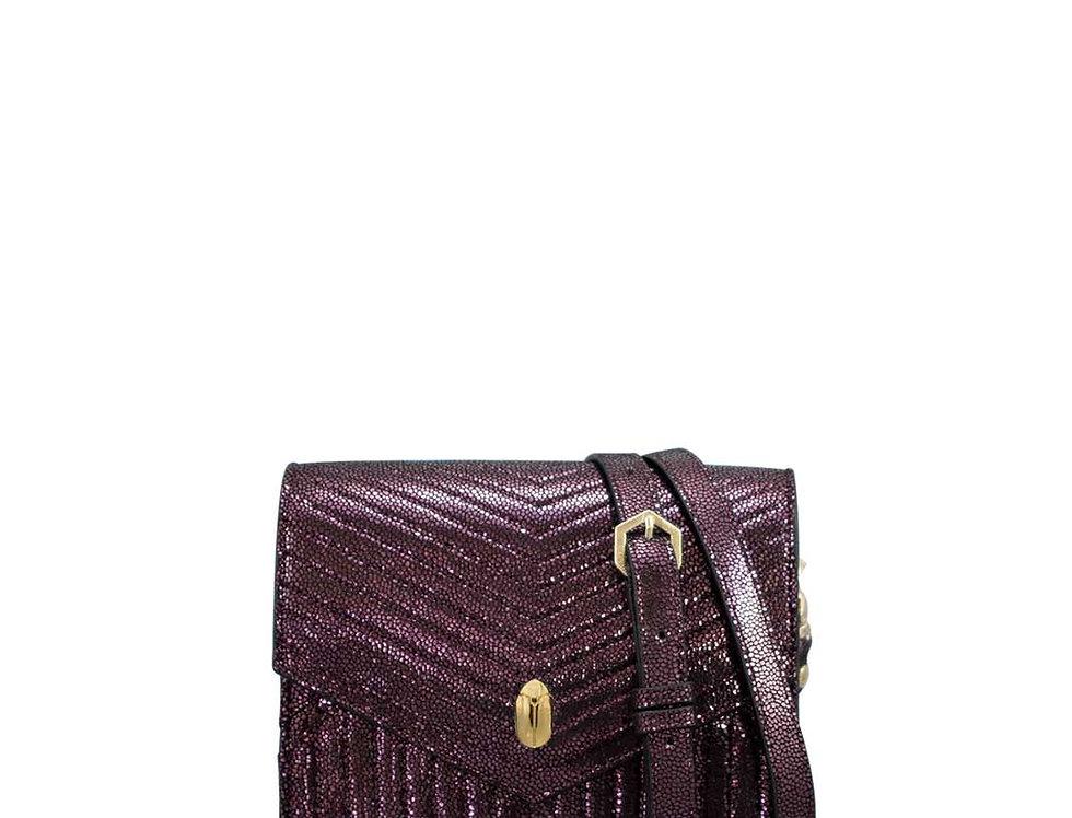 K08 Mini Bag Metallic Purple