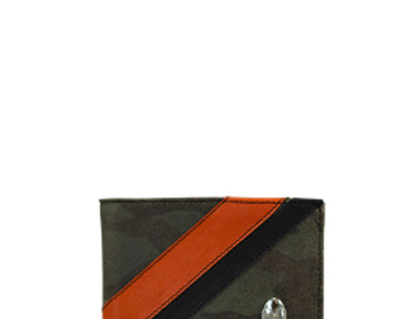 G02 Army & Orange Classic Wallet