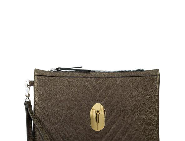 K012 Clutch Bag Bronce