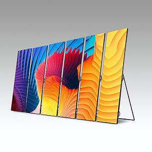 LED Video Poster Pannels