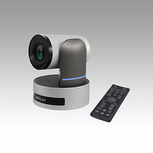 Conference room video camera and remote