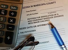 abogado divorcio manutencion Arizona Phoenix Mesa Glendale Surprise Espanol
