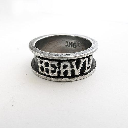 Heavy Band Ring