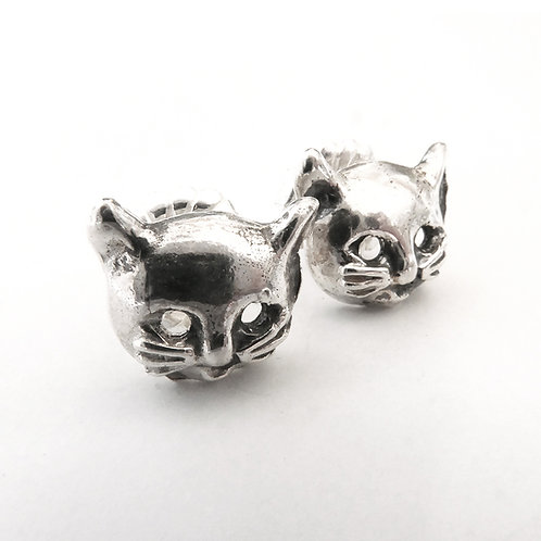 Kitty Cathead Stud Earrings