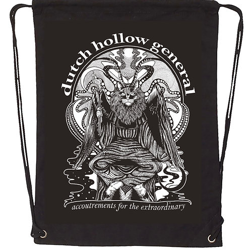 Dutch Hollow General Catphomet Drawstring Backpack