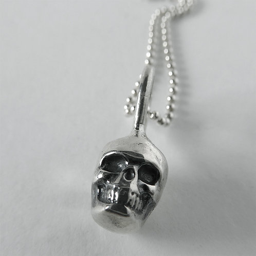 Lil Skull Necklace - Sterling Silver