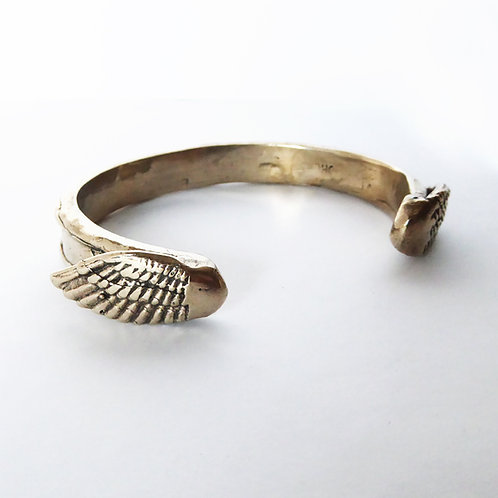 Wing Cuff in Bronze