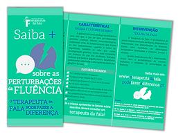 Folheto sobre FLUÊNCIA