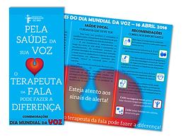 Folheto sobre VOZ