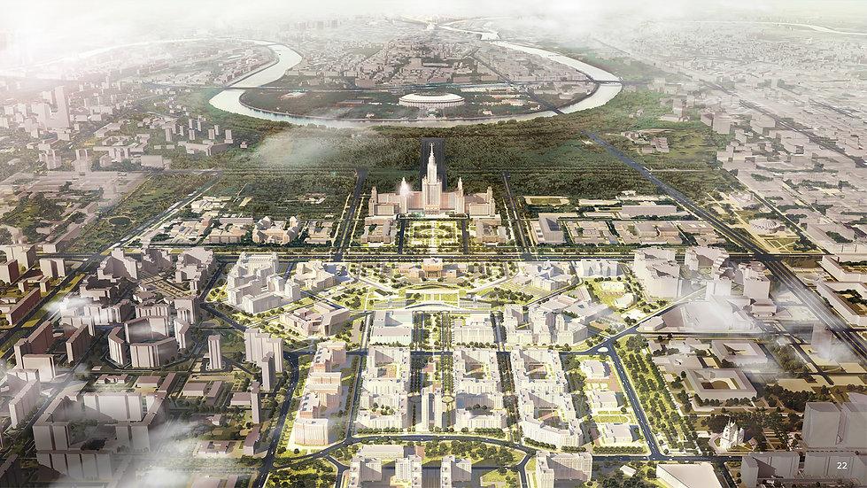 Moscow State University Area Development