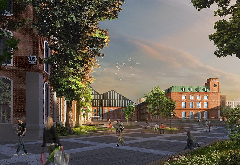 Derbenevskaya Embankment Development Concept