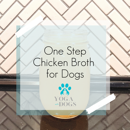 One Step Chicken Broth for Dogs