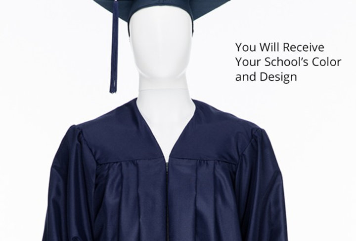 Cap and gown Package D (See Description for product details)