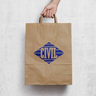 Civil Logo Bag