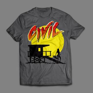 Civil Baywatch Tshirt