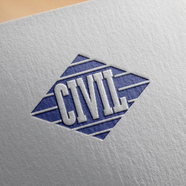 Civil Log Stamp
