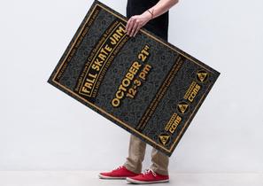 Fall Skate Jam Poster