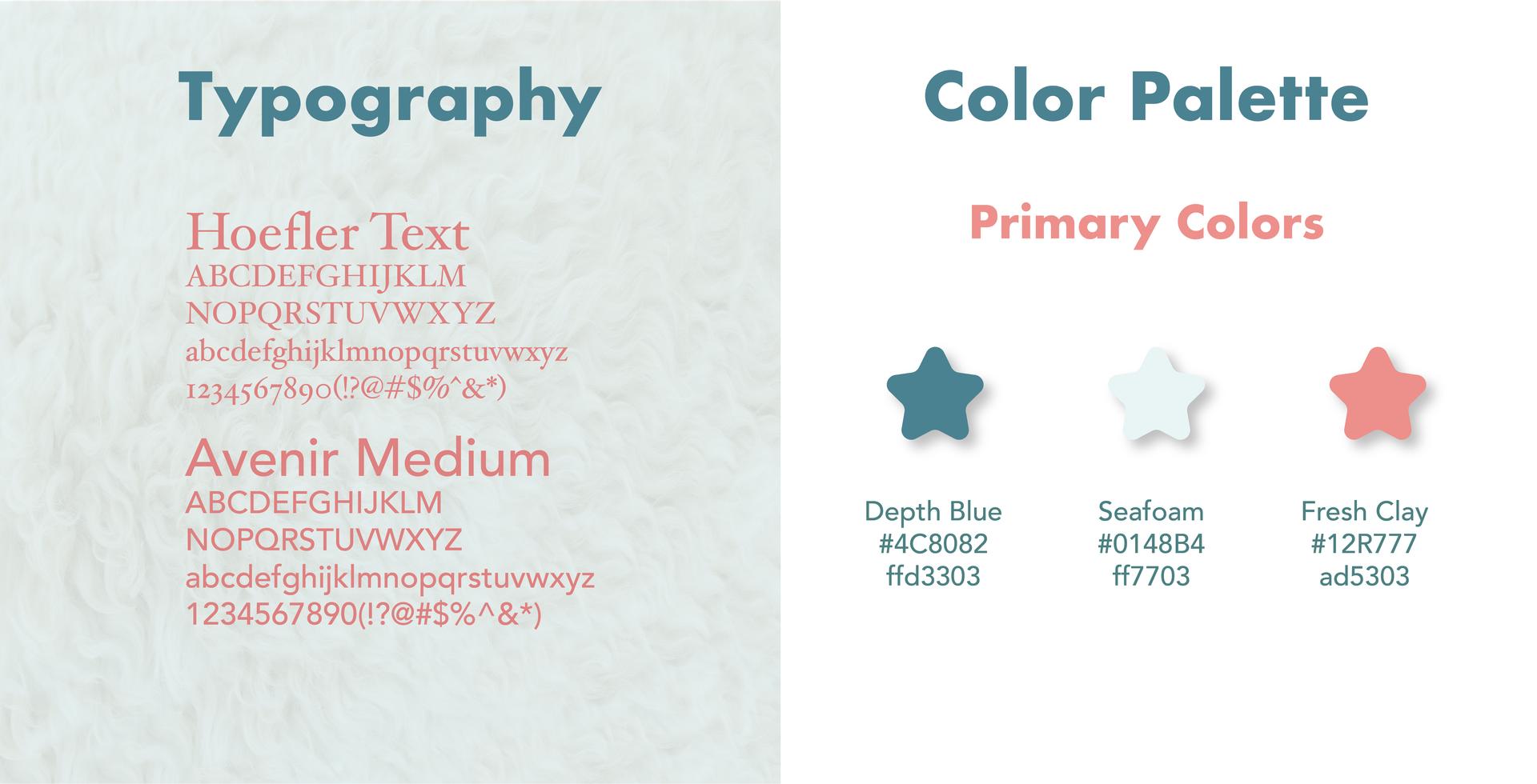 Type/Color Palette