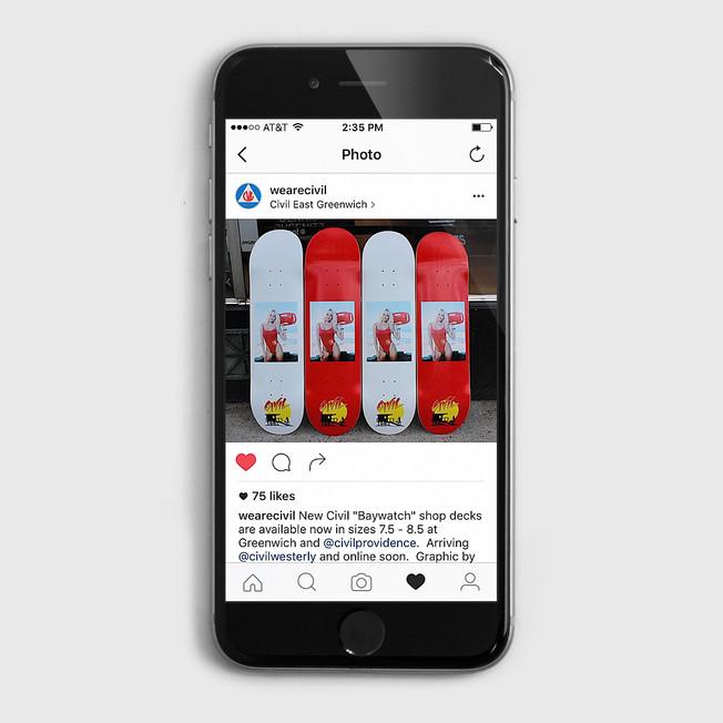 Civil Baywatch Skateboards