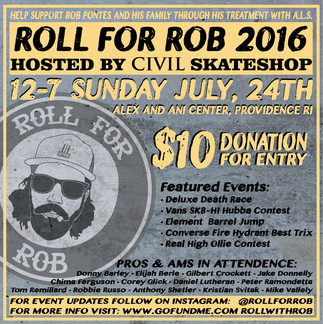 Roll for Rob Flyer