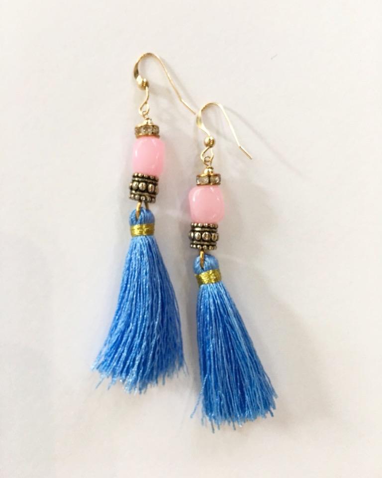 Blue & Pink Tassels.JPG