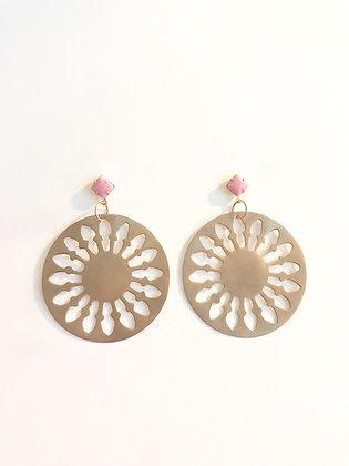 Spiritual Circle Earrings