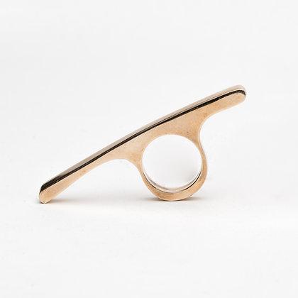 Bar Ring Brass